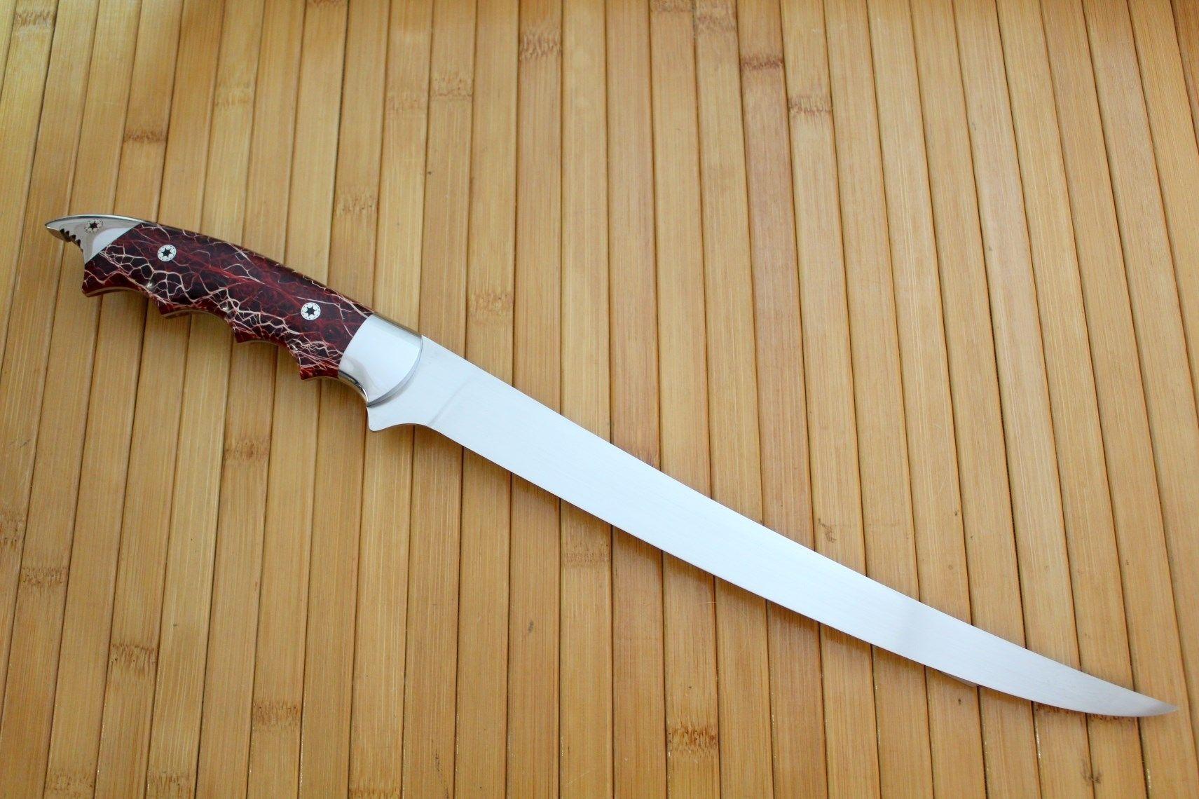 Handmade Fillet Knives By Cote Custom Knives Custommadecom