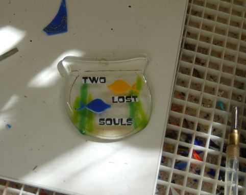 "Custom Made ""Two Lost Souls"" Christmas Ornament"
