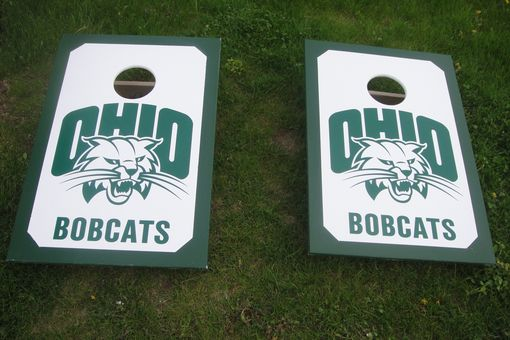 Custom Made Officially Licensed, Tailgate Sized Corn Hole Games 36