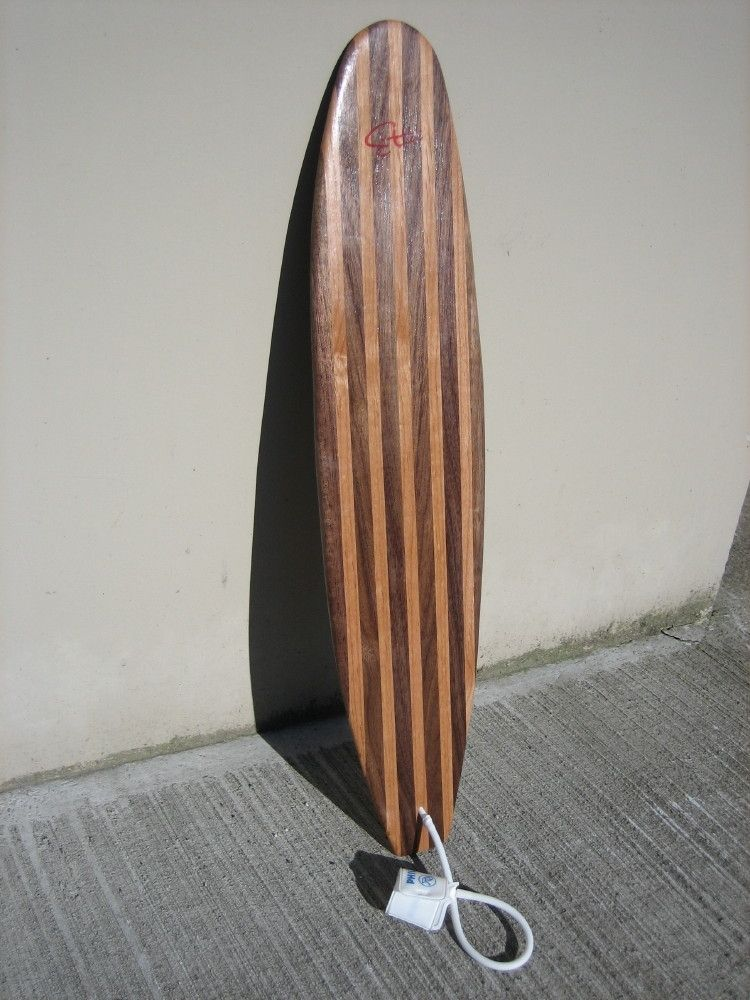 Custom Made Wood Surfboard By Turnco Architectural Wood