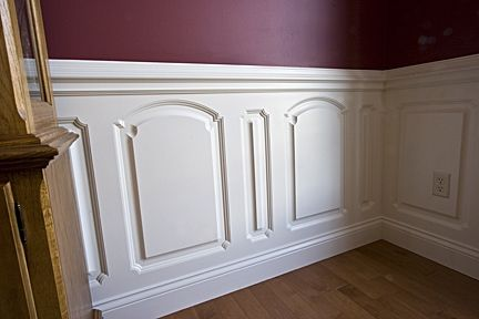 Custom Made Dining Room Custom Wainscoting – Custom Designed Style