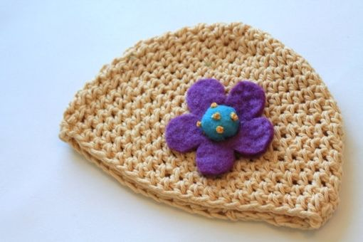 Custom Made Adorable Baby Beanie, Eco Friendly, Photo Prop, Super Soft