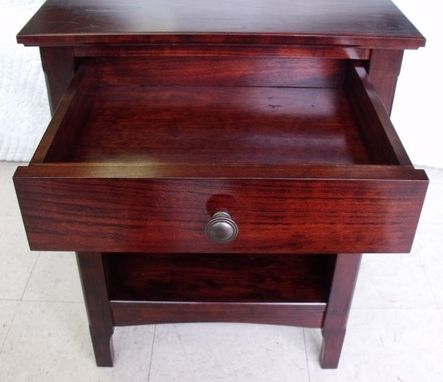Custom Made Cherry Side Table