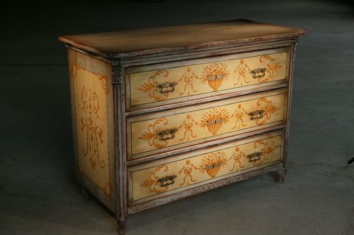 Custom Made French Filigree 3 Drawer Dresser