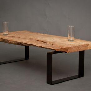 Ellington Reclaimed Elm Wood Coffee Table By Blake Paine