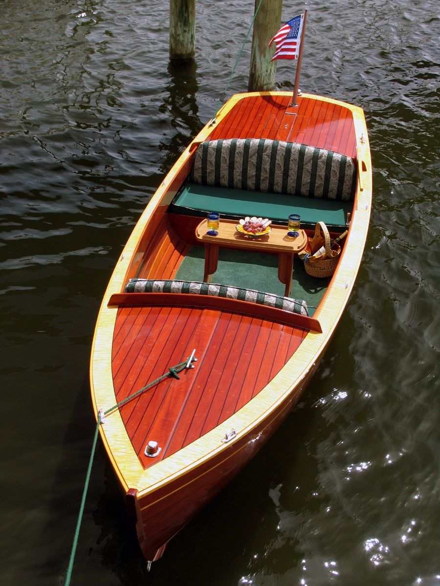 Custom 15 Electric Boat Lightning Bug By Budsin Wood