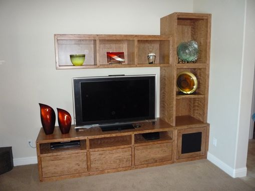 Custom Made Custom Cherry Entertainment Center