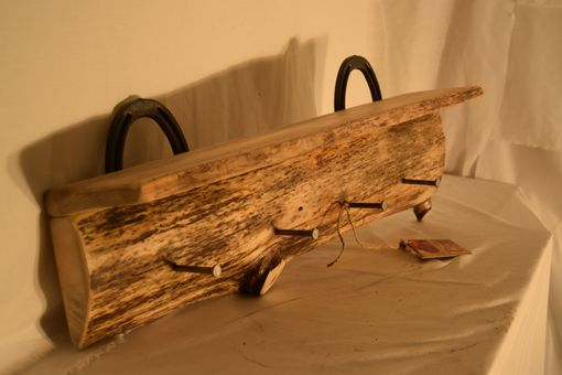 Custom Made Live Edge Coat Rack
