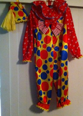 Custom Made Clown Jumpsuit Costume