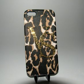 63b7e0f9c1 Crystallized Vs Victoria s Secret Iphone 5 5s Case Leopard Print Made With Swarovski  Crystals by