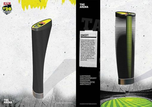Custom Made T20 Big Bash League Trophy Concepts