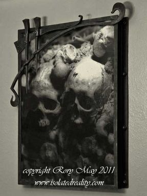 Custom Made Catacombs Picture Frame