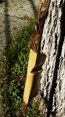 Custom Made Luan And Hickory Recurve Bow