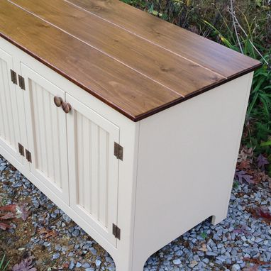 Custom Made Inset Beadboard Door Sideboards