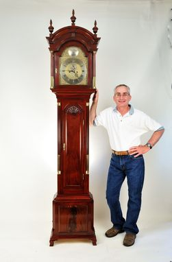 Custom Made Newport Tall-Case Clock