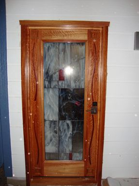 Custom Made Craftsman Style Doors
