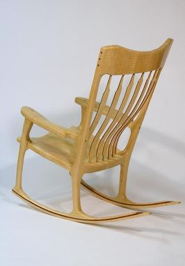 Custom Made Scuplted Rocking Chair