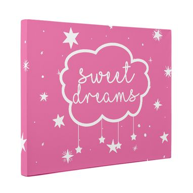 Custom Made Sweet Dreams Nursery Canvas Wall Art