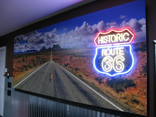 Custom Made Route 66 Bar