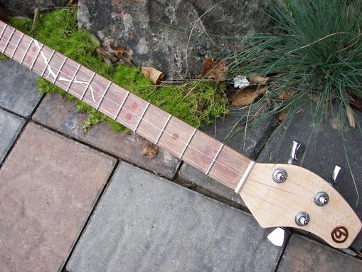 Custom Made Handcrafted Mini Guitar (Cigar Box Guitar)