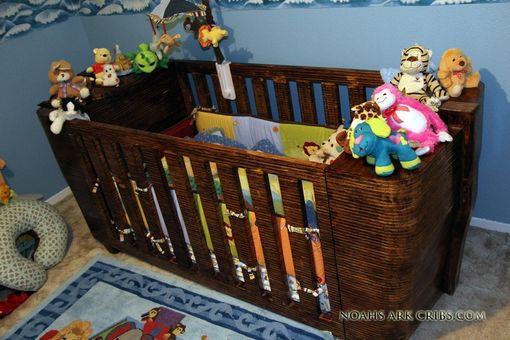 Hand Made Noah S Ark Crib By Noah S Ark Cribs Custommade Com
