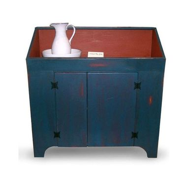 Custom Made Colonial Inspired Dry Sink