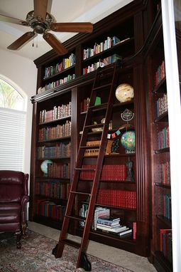 Custom Made Library Cabinetry