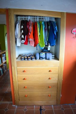 Custom Made Built In Dresser And Closet Before And After