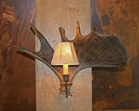 Custom Made Antler Sconces
