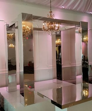Custom Made Mirror Acrylic Wedding Strucutre - Chuppah, Mandap, Gazeebo, Arch