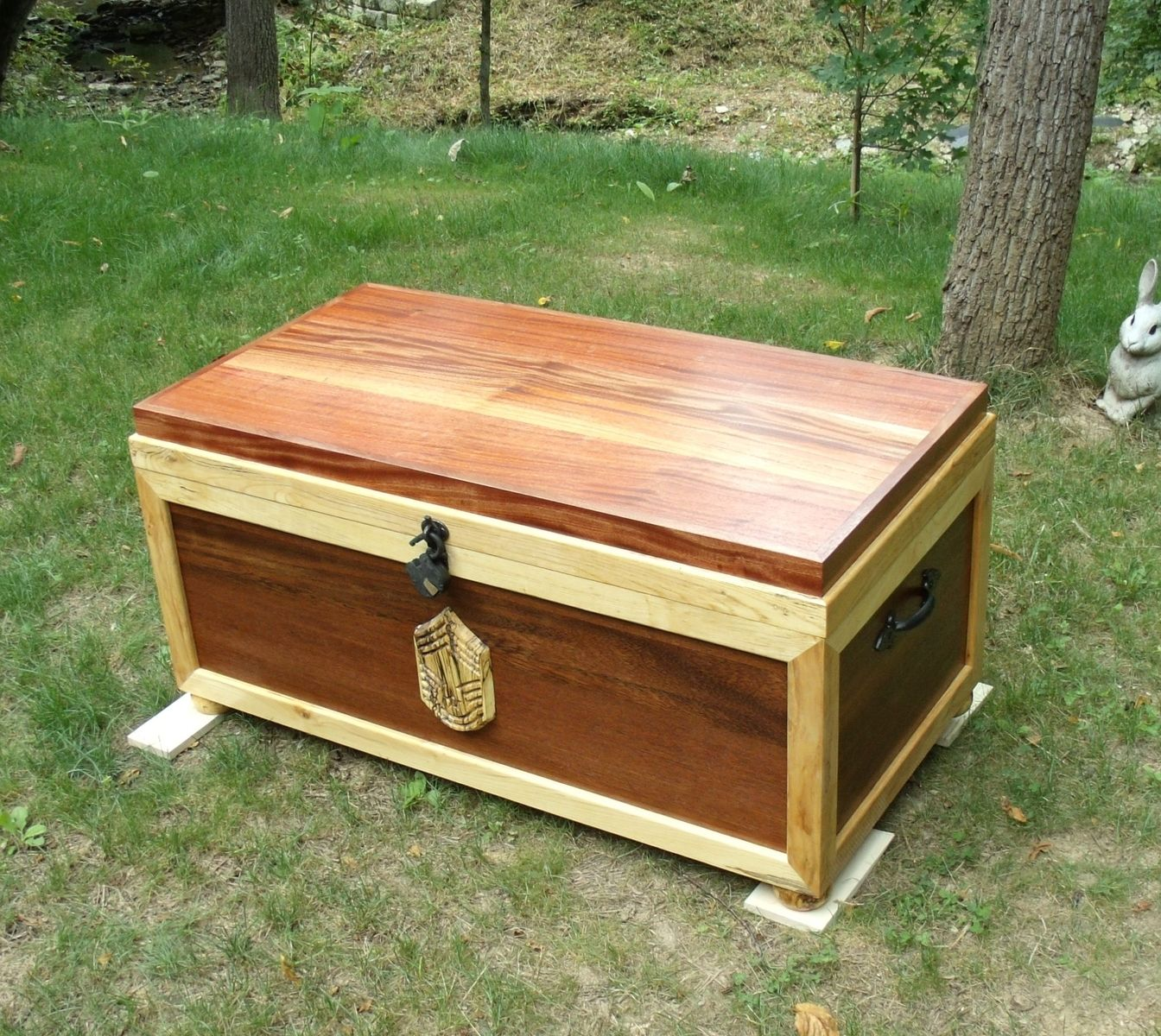 Handmade Sea Chest Military Retirement Gift By