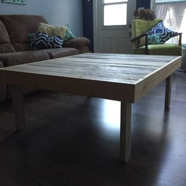 Custom Made Reclaimed Lumber End Table