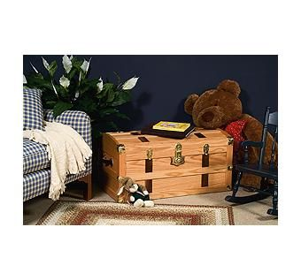 Custom Made Steamer Storage Trunk