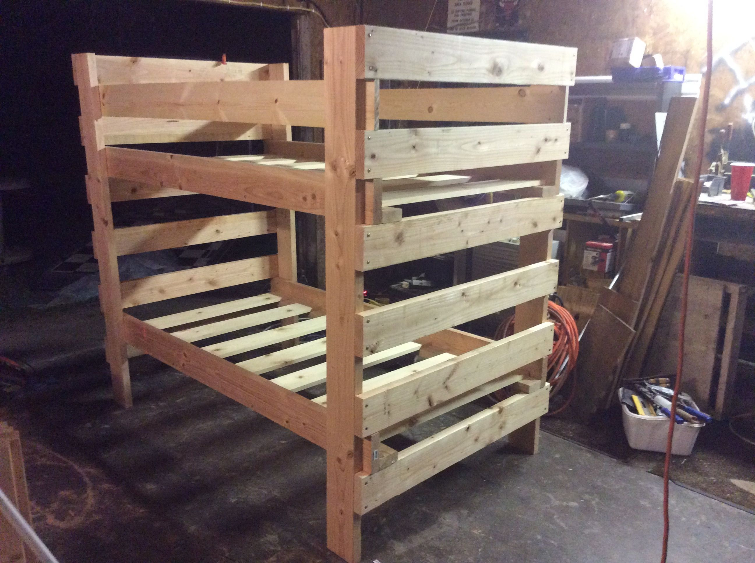 Custom Made Twin Bunk Beds By The Stockton Mill Custommade Com