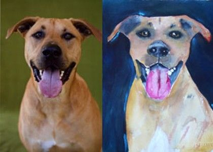 Custom Made Custom Pet Portraits From Your Image