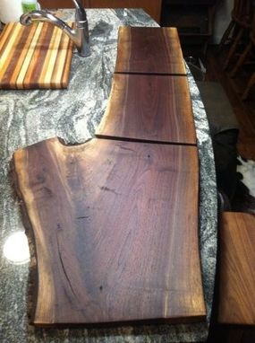 Custom Made Rustic Walnut Cutting Boards/Serving Trays