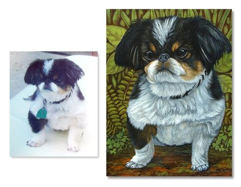Custom Made Small Dog Painting