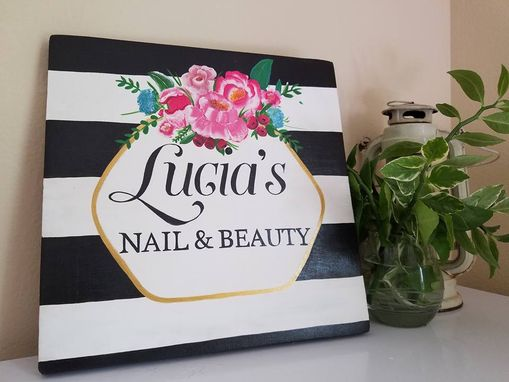 Custom Made Custom  Hand Painted Sign