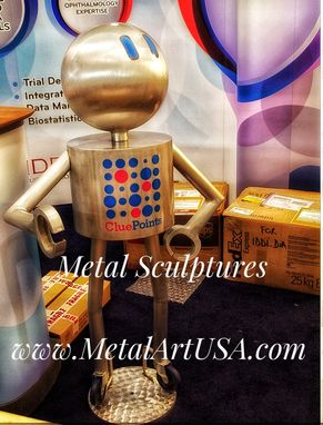 Custom Made Aluminum Metal Sculpture