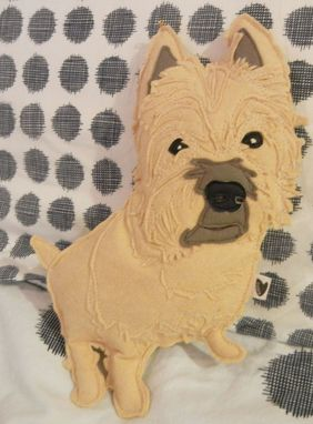 Custom Made Custom Rusty The Cairn Terrier Pet Felt Plushie