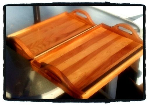Custom Made Serving And Cutting Tray