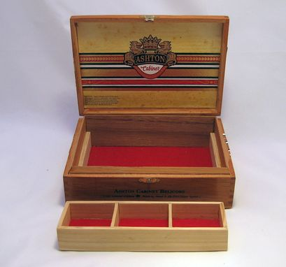 Custom Made Cigar Jewelry Box: Ashton Cabinet Belicoso