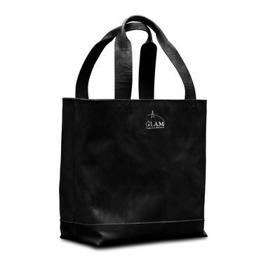 Custom Made Leather Shopping Tote, Shoppers Bag, Classic Italian Handbag