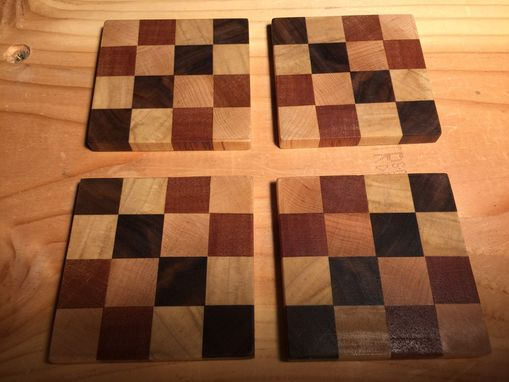 Custom Made Exotic Wood Coasters
