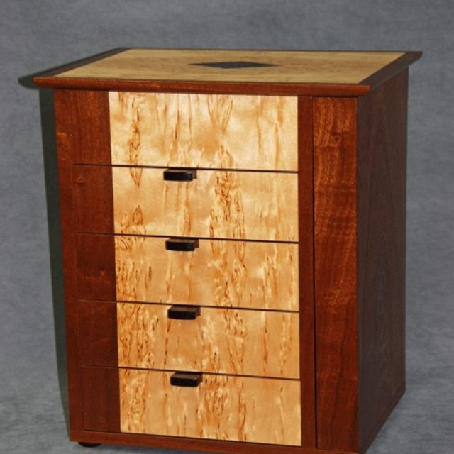 Small Jewelry Armoire - Custom Jewelry Towers & Armoires CustomMade.com
