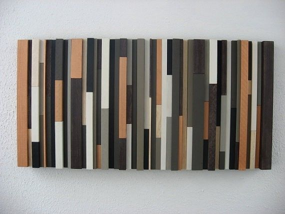 Hand Made Modern Rustic Wood Wall Art By Modern Rustic Art