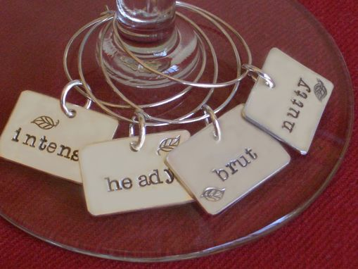 Custom Made Wine Charm Curio Set