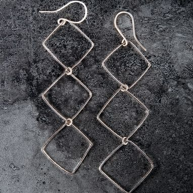 Custom Made Sterling Silver Earrings