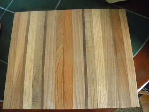 Custom Made Wooden Cutting Board - Maple, Cherry, Oak Or Walnut