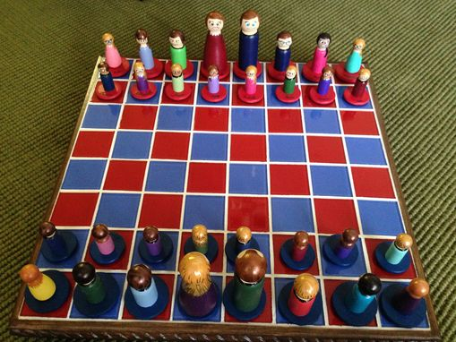 Custom Made 1st Grade Class Chess Set